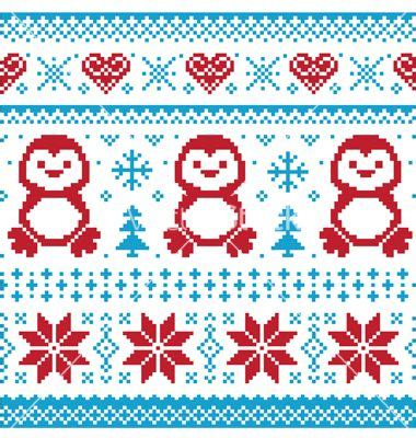 christmas pattern sweater free christmas knitted pattern scandynavian sweater vector