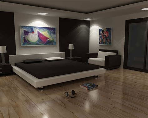 Hardwood Floor Bedroom Ideas by Bedroom Interior Design Wood Floor Modern Minimalist
