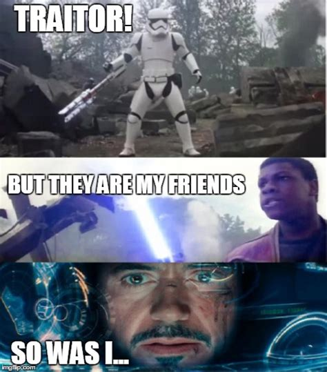 Traitor Memes - image tagged in star wars traitor marvel civil war imgflip