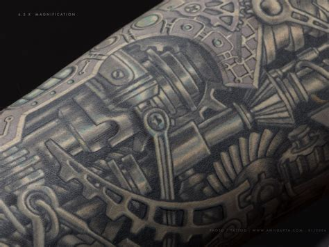 biomechanical tattoo terminator anil gupta biomechanical tattoos