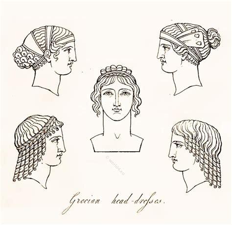 ancient greek hairstyles antique hairstyle pinterest headdresses hairstyles and headdresses of ancient greek