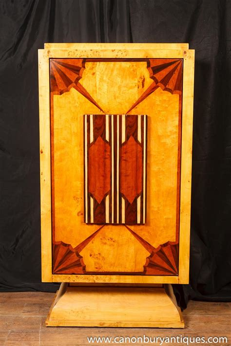 art deco drinks cabinet art deco cocktail cabinet drinks chest 1920s furniture ebay
