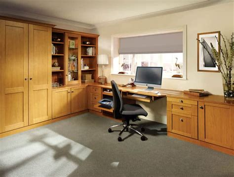 fitted home office furniture fitted sit stand desks