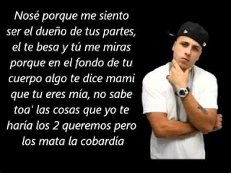 nicky jam romanticas me siento tuyo letra nicky jam youtube