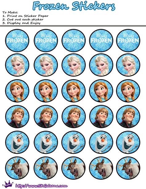 printable stickers round 68 best printable stickers images 8 best images of frozen printable stickers free