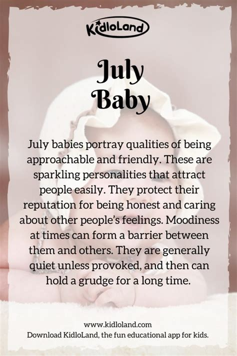 january 22 birth date meaning what does your baby s birth month mean kidloland