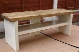 pine coffee table side