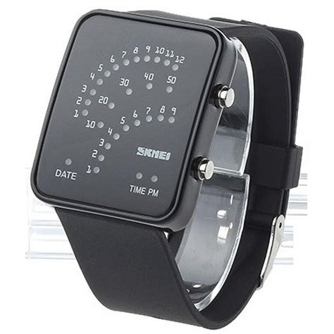 Jam Tangan Led Skmei Digital jual jam tangan pria skmei digital sport led touch