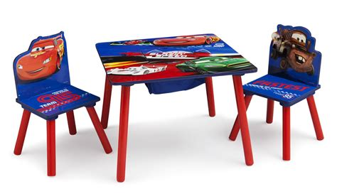 cars table and chairs disney cars table 2 chairs lightning mcqueen