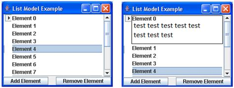 java swing future java jlist swing adding description to list item stack