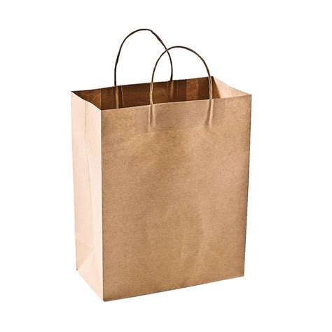 Brown Paper Craft Bags - craft gift bags orientaltrading family reunion