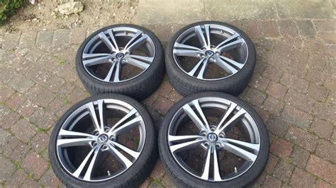 volvo v40 tyre size volvo v40 v60 original artio 19 quot black rims and tyres set
