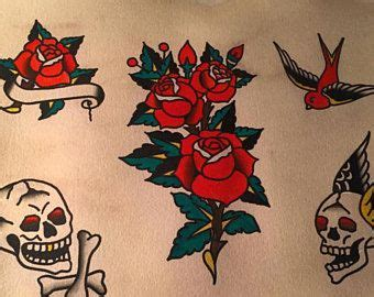 rose tattoo sailor jerry image result for sailor jerry flash tattoos