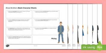 blood on sheets and passive gcse english literature character revision activity sheets to