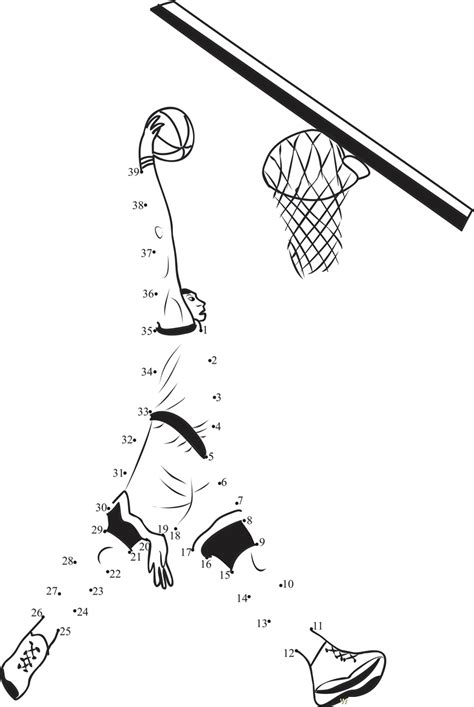 printable dot to dot sports sports worksheets for kids cute kiddo shelter