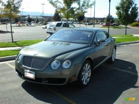 green bentley 2004 cypress green bentley continental gt 26436857 photo