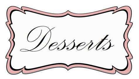 Dessert Labels Weddingbee Photo Gallery Dessert Labels Template
