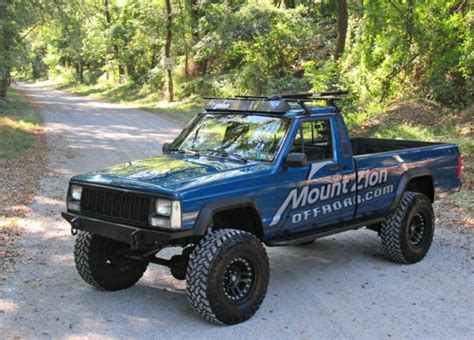 comanche jeep lifted 1989 jeep comanche aweome rig lifted 33 s 4 0l high