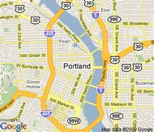 map of downtown portland oregon portland maps free printable maps