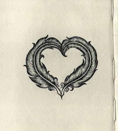 tattoo feather heart gallery for gt home is where the heart is feather tattoo