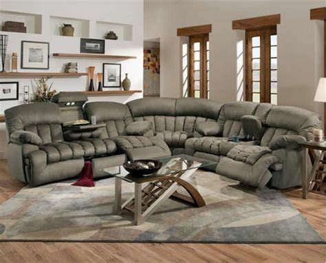 large reclining sectional sofa 1000 ideas about reclining sectional sofas on