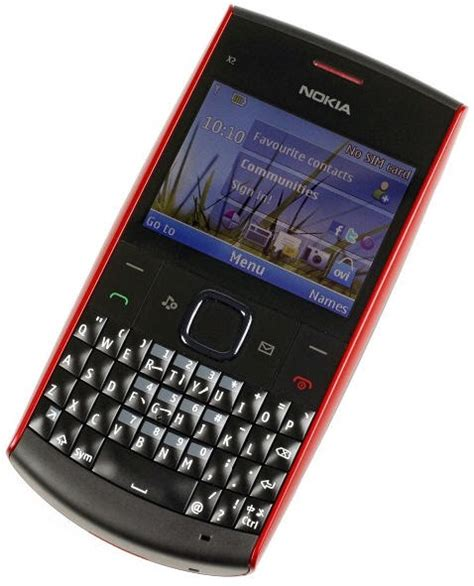 Handphone Nokia X2 Qwerty technorena nokia x2 01 qwerty new features packed phone