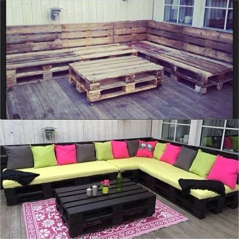 outdoor furniture  pallets pictures