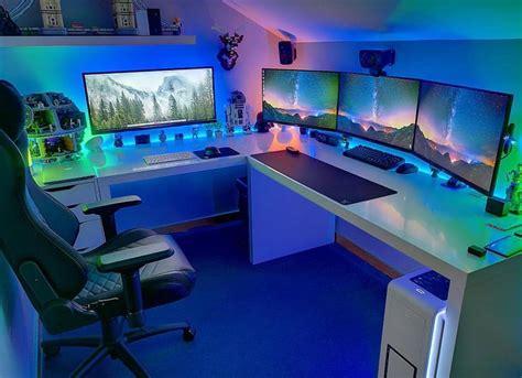 Meja Komputer Di Medan 19 desain dan model meja komputer gaming lagi ngetrend