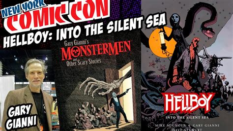 hellboy into the silent b06xkfwzcw gary gianni talks hellboy into the silent sea and game of thrones pete s basement nycc