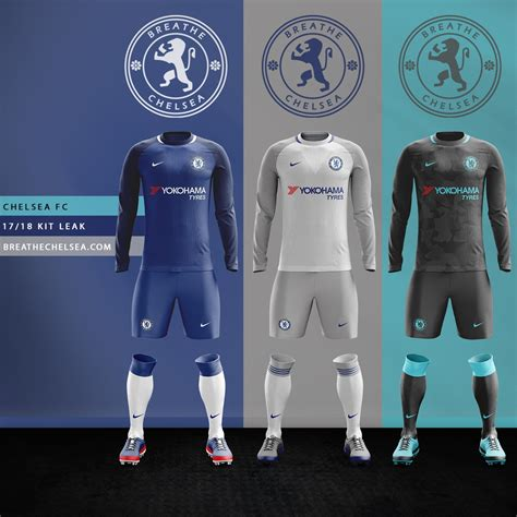 Custom Kaos Jersey Chelsea Away 17 18 Go breathe chelsea on quot here are the 17 18 cfc kits based on leaked information