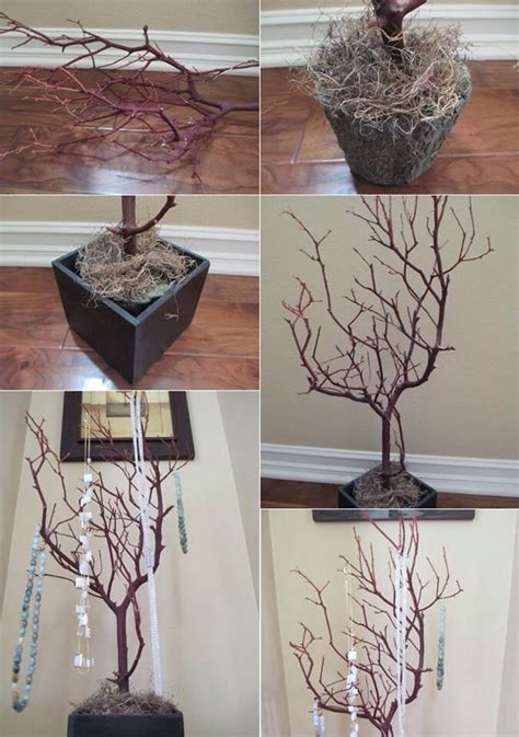 diy tree branches home decor ideas that you will love to copy diy tree branches trusper