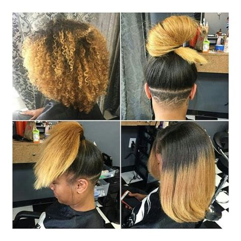 short pressed hairstyles silk press on natural hair straight hair styles
