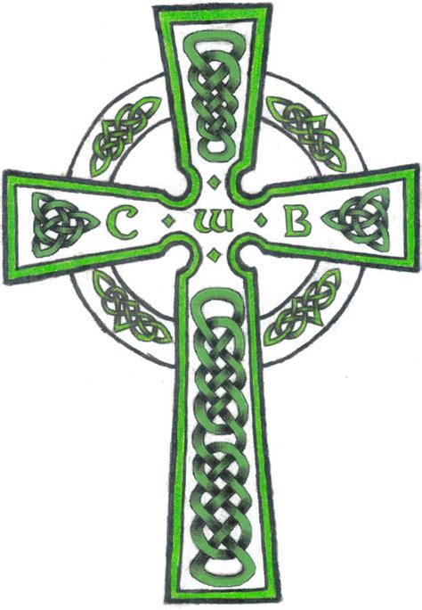 celtic memorial cross by labaronnerousse on deviantart