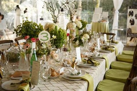 tablescapes green and gold theme 2030404 weddbook