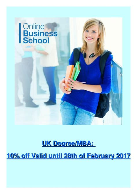 Is Distance Degree Valid For Mba by Uk Degree Mba 10 Valid Until 28th Of February 2017