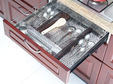 Modular Kitchen Baskets Designs Optimise Kitchen Storage With The Right Channel And Basket