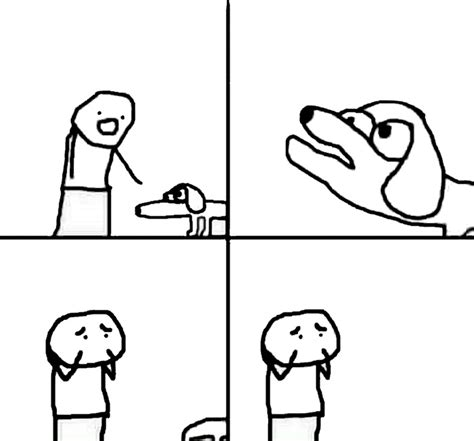 Template Memes - retarded dog blank template imgflip