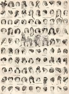 names of hairstyles antiques hairstyles and vintage on pinterest