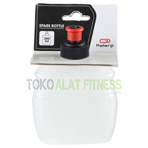 Botol Plastik Tutup Merah 250 Ml Limited Edition kalenji spare water bottle 250 ml toko alat fitness