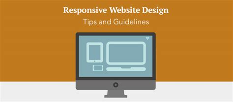homepage design rules responsive website design tips and guidelines