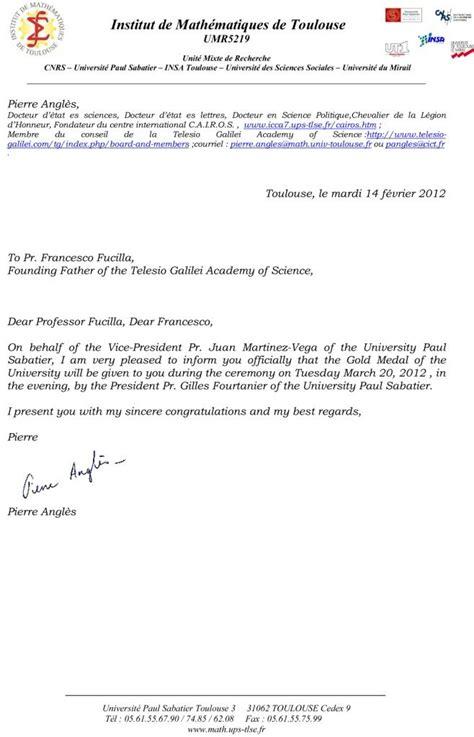 Exemple De Lettre D Invitation Officielle Modele Lettre Invitation Remise Diplome