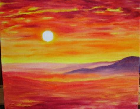 Acrylbilder Zum Nachmalen by Toskana Landschaft Malen Mit 214 Lfarben