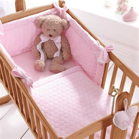 Clair De Lune Crib by Clair De Lune 2pc Crib Bedding Set Marshmallow Pink From