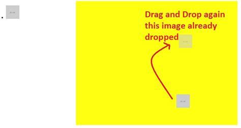 javascript drag and drop tutoriale video javascript drag and drop drag an item already dropped