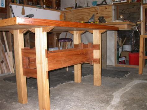 hardwood work bench hardwood workbench diy woodworking projects