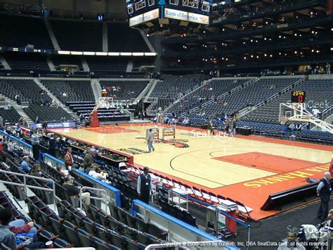 philips arena section 115 seat views seatgeek