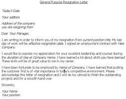 Resignation Letter Bad Management Tips For Writing An Effective Resignation Letter