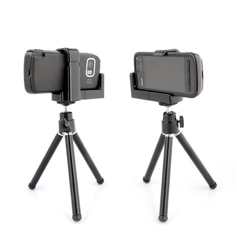 Tripod Iphone 4s 360 degree rotatable universal tripod stand mobile holder mount iphone 4s nokia