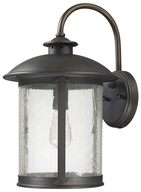 Transitional Outdoor Lighting Capital Lighting 9563ob Transitional Outdoor Wall Light Cp 9563ob