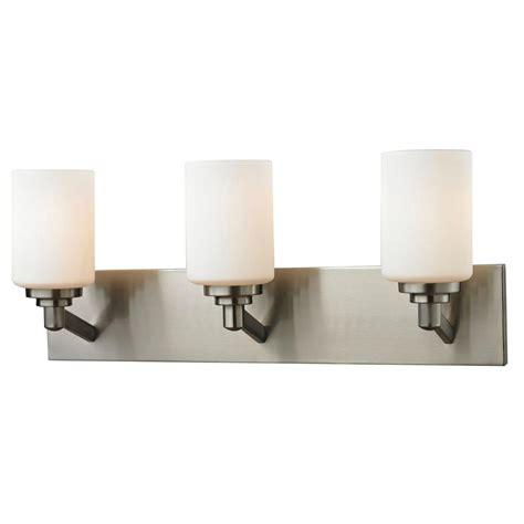6 light bathroom fixture brushed nickel bathroom home filament design chic 3 light brushed nickel bath vanity
